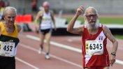 ¡Admirable! Peruano de 91 años gana en Mundial de Atletismo