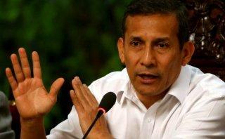 Humala defiende a Nadine y ataca a Comisión Belaunde Lossio