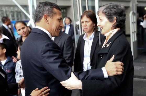 Humala y Nadine acudieron al velorio de José Matos Mar [FOTOS]