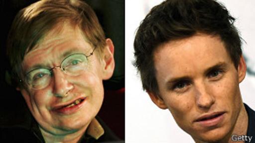Stephen Hawking fue interpretado por Eddie Redmayne.
