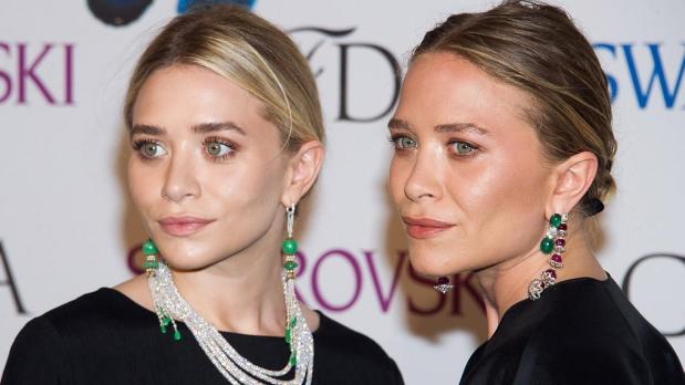 Las gemelas Olsen en una reciente entrega de premios.(Foto: AP)