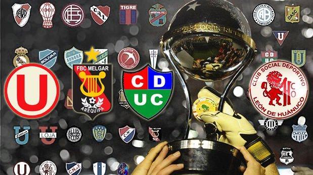 Copa Sudamericana: programación del debut de equipos peruanos