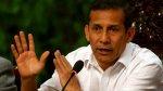 Humala defiende a Nadine y ataca a Comisión Belaunde Lossio - Noticias de amparo soto