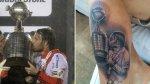 Fernando Cavenaghi se tatuó el trofeo de la Copa Libertadores - Noticias de fernando cavenaghi
