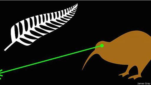 Una de las propuestas que no pasaron el corte: un kiwi que dispara rayos láser por los ojos.