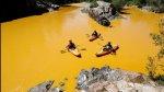 El derrame tóxico que tinó de amarillo mostaza al río Colorado - Noticias de accidente en chincha