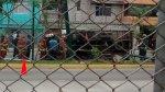 Chorrillos: camión se volcó cerca a la estación Matellini - Noticias de estación de bomberos