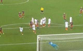 Lionel Messi: su golazo de tiro libre visto desde la tribuna