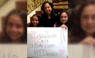 Nadine Heredia se mostró a favor de despenalización del aborto
