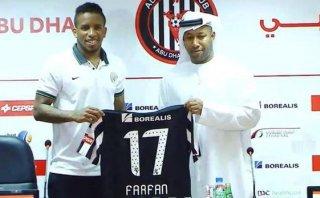 """Jefferson Farfán presentado en Al Jazira: """"Es un club grande"""""""