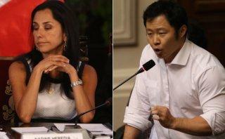 Nadine Heredia y Kenji Fujimori, en choque por esterilizaciones