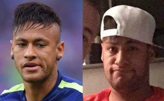 Neymar con paperas: así luce el rostro del crack del Barcelona