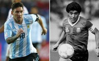Día del zurdo: el video que compara a Lionel Messi y Maradona
