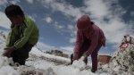 Heladas siguen golpeando la sierra sur del país [FOTOS] - Noticias de suspenden clases