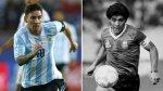 Día del zurdo: el video que compara a Lionel Messi y Maradona - Noticias de diego armando maradona