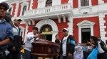 Trujillo: transportistas protestan por asesinato de un chofer - Noticias de orlando villanueva