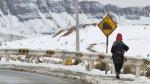 Nevada afectó el tránsito en la Carretera Central [FOTOS] - Noticias de paro en la oroya