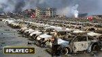 Tianjín, sumida en tareas de rescate y en indignación [VIDEO] - Noticias de acid survivors trust international