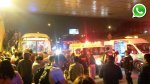 Choque de buses dejó varios heridos en Panamericana Sur [FOTOS] - Noticias de clinica san felipe