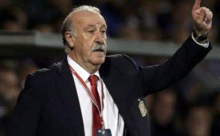 """Del Bosque molesto: """"Nadie tiene en cuenta a la selección"""""""
