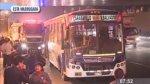 Surco: 14 heridos por choque de buses que deben S/. 17 mil - Noticias de accidente de transito