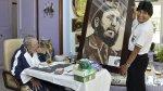 Las mejores fotos que dejó el cumpleaños 89 de Fidel Castro - Noticias de evo morales