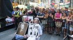 Nueva York: Parejas recrearon icónica foto del fin de la Guerra - Noticias de besos de famosos