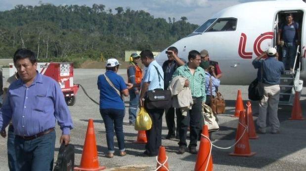 Satipo: inauguran vuelos comerciales en aeródromo de Mazamari