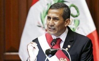Ollanta Humala: su aprobación registra ligera reducción