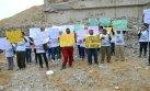 Ica: pobladores protestaron a un mes de caída de puente Topará