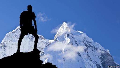 Muchos montañistas escalan el Everest por el orgullo de decir que han alcanzado la cima de la montaña más alta del mundo. (Foto: ThinkStock)