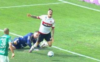Paolo Guerrero: Flamengo perdió 4-2 con Palmeiras