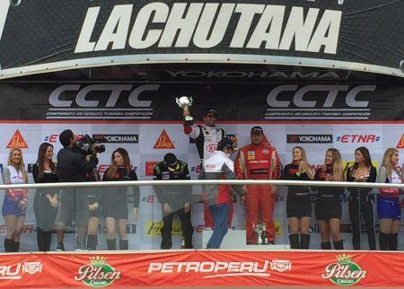 Es la primera carrera que gana Ricci en lo que va del año. (Fotos: Ruedas&Tuercas)