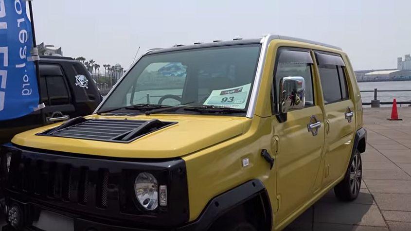 YouTube: ¿Un Daihatsu convertido en una Hummer ...