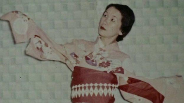 A Hiroko le gustaba usar ropa tradicional japonesa. (Foto: BBC Mundo)