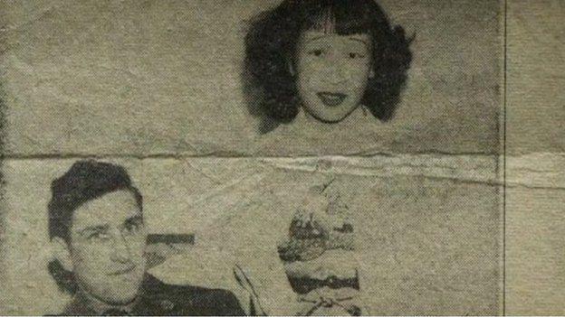 Hiroko se casó com el soldado estadounidense Samuel 'Bill' Tolbert en Japón y se radicó en EE.UU. en 1951. (Foto: BBC Mundo)