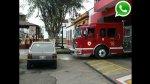 WhatsApp: vehículos impiden que bomberos asistan a emergencia - Noticias de estación de bomberos