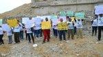 Ica: pobladores protestaron a un mes de caída de puente Topará - Noticias de chincha