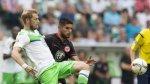 Con Zambrano, Eintracht cayó 2-1 con Wolfsburgo por Bundesliga - Noticias de fútbol alemán