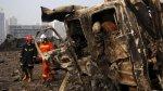 Tragedia en Tianjín: Hay 85 bomberos desaparecidos - Noticias de productos químicos no tóxicos