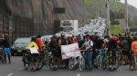 Costa Verde: ciclistas bloquearon vía por muerte de compañero - Noticias de policía atropellado
