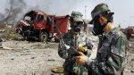 Tianjin: Encuentran toneladas de cianuro en zona de explosiones - Noticias de contaminación del aire