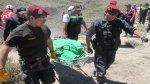 Ambulancia cayó a abismo: hay 4 muertos y 3 heridos - Noticias de hernan quispe