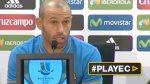 "Javier Mascherano: ""Tenemos motivos para creer"" [VIDEO] - Noticias de camp nou"