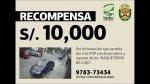 San Isidro contrasta con PNP datos que obtienen por recompensa - Noticias de municipalidad de san isidro