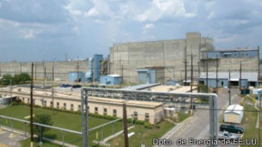 La Zona H de la planta es donde se manipula el uranio.