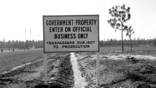 La planta se construyó en los años 50 en la localidad de Aiken, en Carolina del Sur muy cerca de la frontera con Georgia.