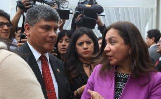 Espinoza pide investigar presunta falsificación de agendas