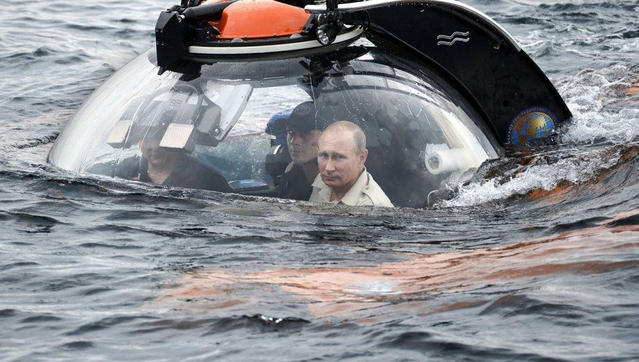 Crimea: El aventurero Putin se va al fondo del Mar Negro