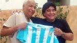 Maradona se reencontró con árbitro que no vio la 'Mano de Dios' - Noticias de maradona